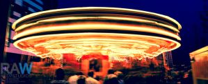 Merry-Go-Round Fareground by Samuel-Benjamin