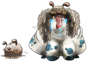 Mop Dog Fakemon by T-Reqs