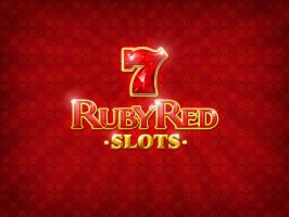 Ruby Red Slots Logo by eyenod