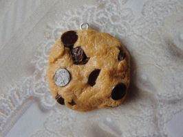 Cute Clay Realistic Cookie by CraftyOlivia