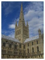 Norwich Cathedral I by Aizxana