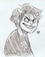 CREEPER SMILE by clorinspats