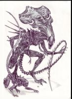 Alien and Queen by Liziel