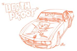 Grindhouse DEATH PROOF Camaro by jasinmartin