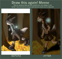 Before and after meme! by selene411