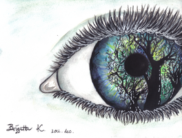 Eye of the Earth by WhiteDarknesss
