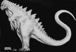 Gojira by artisticallyautistic