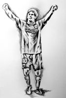 figure drawing - messi by kying1130
