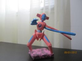 Deoxys Papercraft by Odolwa5432