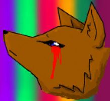 Crying Blood Wolf? by XxMaz-AlmightyxX
