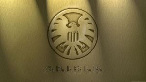 classic S.H.I.E.L.D. Door Crest by mygrinboy