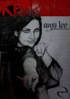 Amy Lee, potrait by erikimai