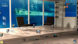 Rainmeter multidock by Fila79