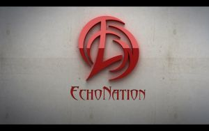 EchoNation logo by adnanalsouri