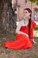 Greek/Roman bride inspired dress by DanielleFioreModel