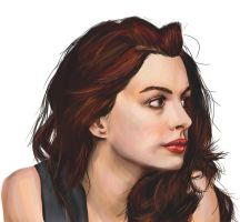 Anne Hathaway by Marduk44