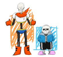 skelebros by KirschTime