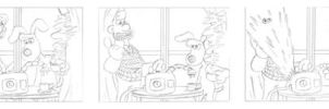 Wallace and Gromit Test Comic 1 by DarylT