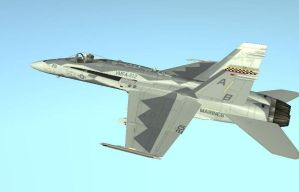 F-18C 'Fight's On' DCS Skin by EricJ562
