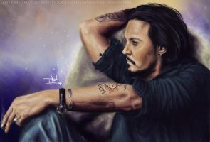 Johnny Depp Vanity Fair by TheTanyaDoll