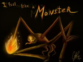 I feel like a monster without internet by Cindy-Brilliant