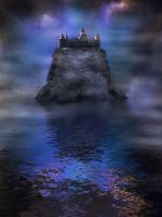 Premade mystic castle 3 by CindysArt-Stock