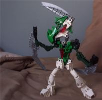 Bionicle Gallade by archus7