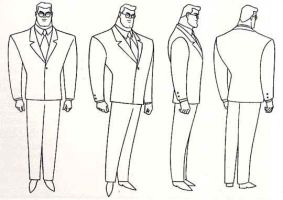 Clark kent Model Sheet by Nes44Nes
