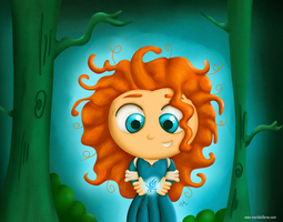 Princess Merida by KellerAC