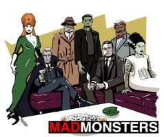 Mad Monsters by sirandal