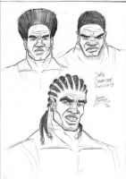 African Skies - concepts Sipho by oICEMANo