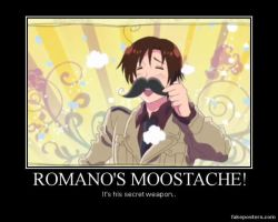 Romano's Moostache Poster by tailsnina