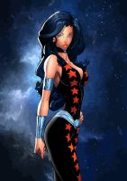 Donna Troy by Saeros89