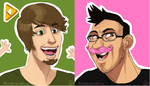 Youtubers by NicolasFlame