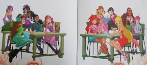 Page of winx club book 2 by fantazyme