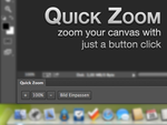 Quick Zoom (Photoshop Panel for CS6) by alexkaessner