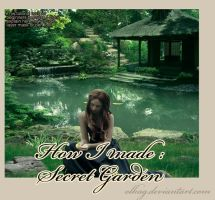 How I made My Secret Garden by olkag