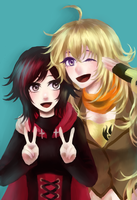 Ruby and Yang by monorhapsody