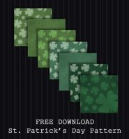 FREE DOWNLOAD - St Patricks Day Patterns by PointyHat
