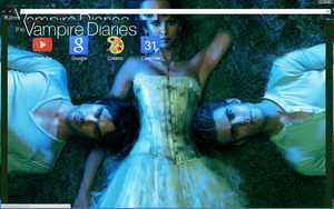 The Vampire Diaries Theme by bandchromethemes