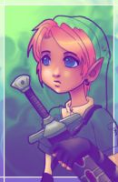 Link -- Fanart by yellowsnow