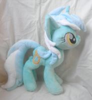 Lyra Plush ( New Mare Pattern) by SillyBunnies