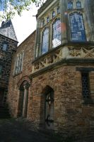 Montsalvat great hall 6 by Dewfooter