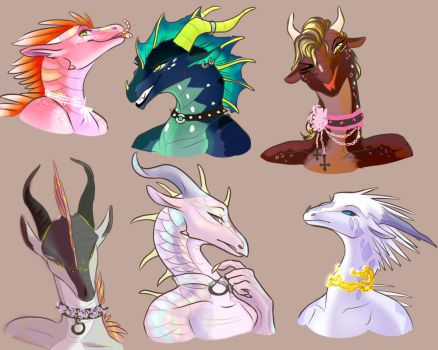 Chokers by CaTTTaco