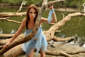 Laura - blue fairy 1 by wildplaces