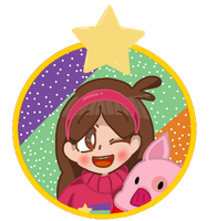 Mabel and Waddles by sweetmashmellowroom