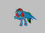 Angelous 3D Model by MincraftMegaAbsray