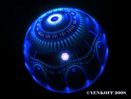 Blue Explorer by Yenkoff