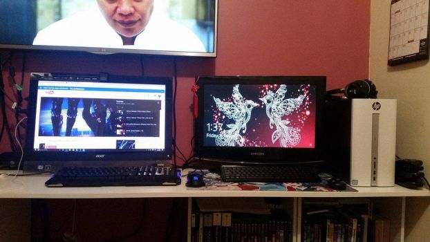 My two Gaming rigs by Safaria2016