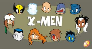 Heads Up X-Men by HeadsUpStudios